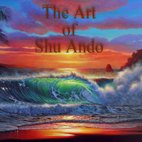 海の絵・波の絵 The Art of Shu Ando